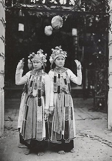 1921-35 Hadong - Danseuses annamites