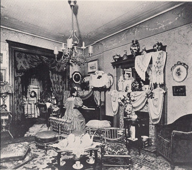 (Undated) In A Victorian Parlor, NYC, NY