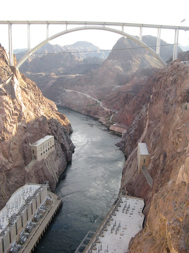 The New Bridge at the Hoover Dam