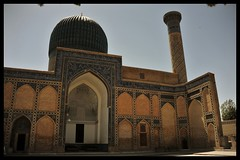Gur-e Amir mausoleum Samarkand