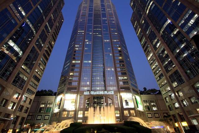 Regus M Thai Tower Bangkok building