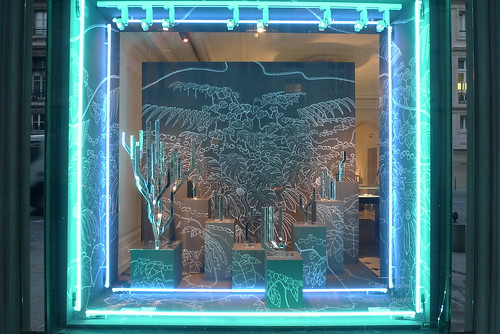 N on le journal des vitrines for Neon artiste contemporain