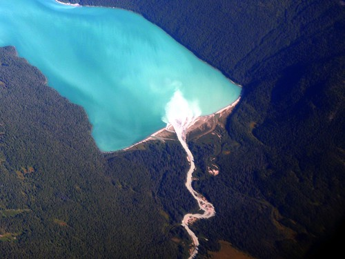 blue lake canada river bc britishcolumbia delta alpine sediment provincialpark tweedsmuir glacial