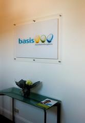 Clear acrylic Internal office sign