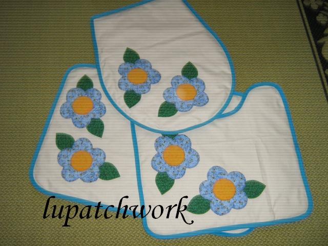 Patchwork Tapete Banheiro : Jogo de tapetes para banheiro lupatchwork@bol.com.br Flickr