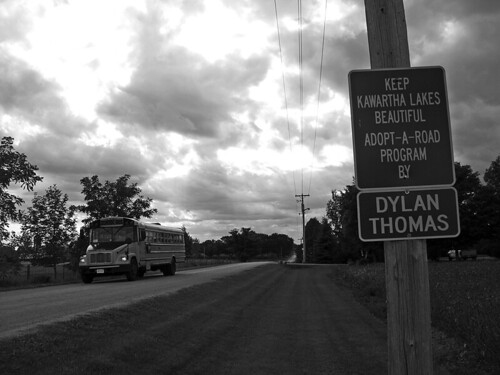 Road Adopted by Dylan Thomas (2)