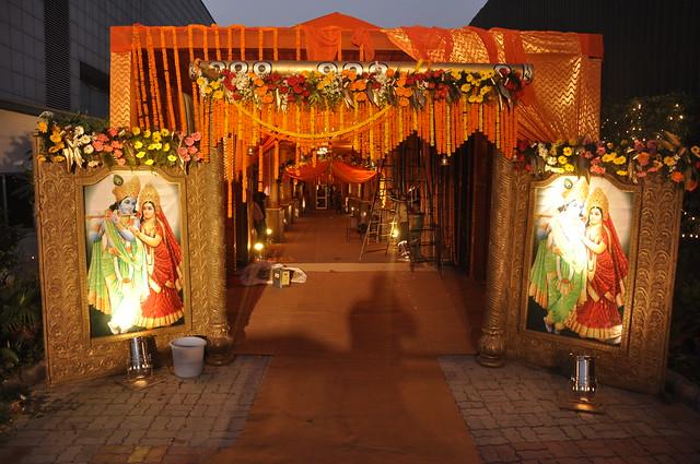 Darbar sahibabad east delhi noida 39 s finest and biggest for Latest wedding hall decoration