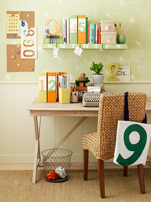 Diy office desk flickr photo sharing - Creative desk ideas for small spaces model ...