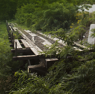 Lost bridge in Brewers Hill