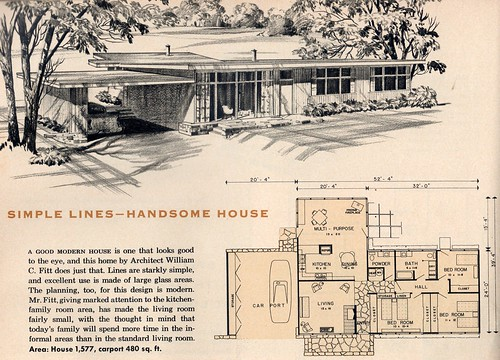 Flickr The Houses And House Plans Of The 1940 39 S 50 39 S 60