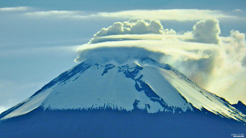 blue naturaleza nature azul méxico clouds landscape mexico volcano nikon paisaje nubes coolpix puebla p500 professionalphotography volcán popocatépetl nikonp500 nikoncoolpixp500 coolpixp500 fotografíaprofesional mexicanphotographers fotógrafosmexicanos tonatiuhichan