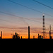 Small photo of Oil company sunset