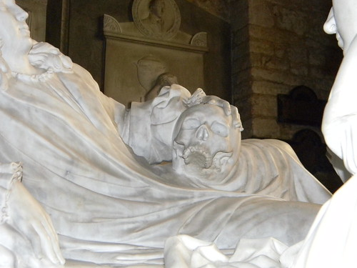 Detail, Sackville tomb, Withyam Church