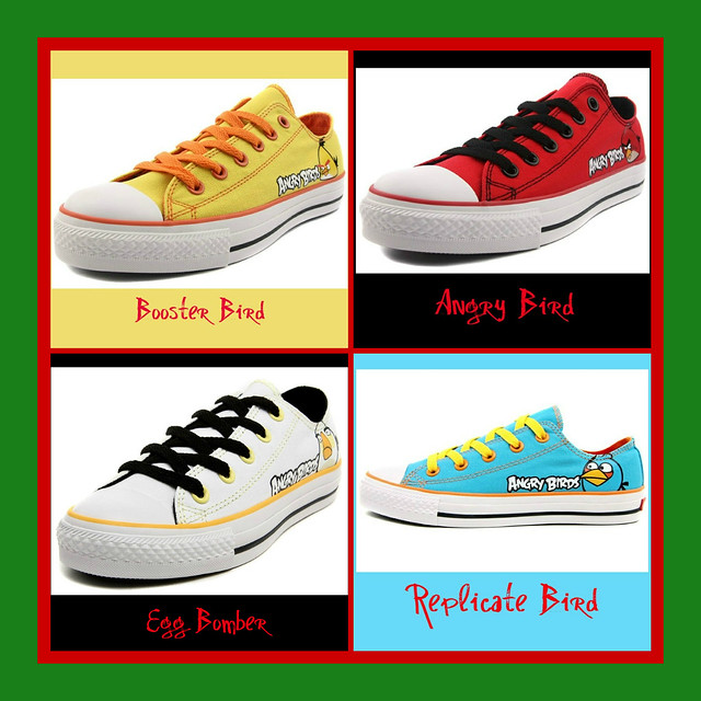 Angry Bird Shoes For Kid
