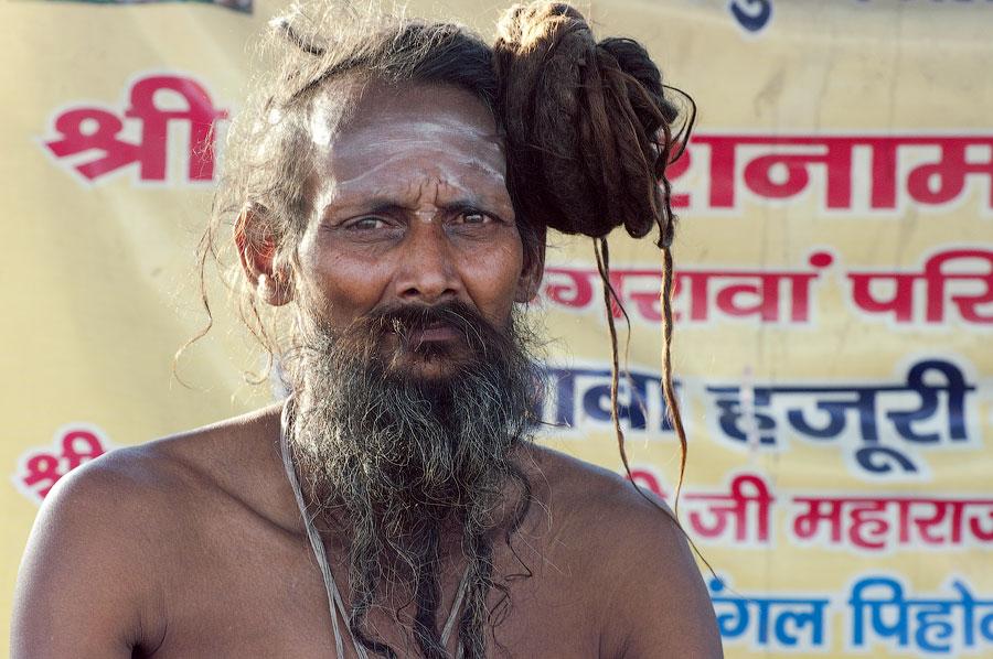 Нага-баба, Кумбхамела 2010 © Kartzon Dream - авторские путешествия, авторские туры в Индию, тревел фото, тревел видео, фототуры