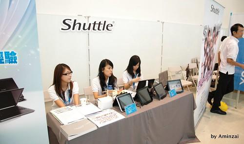 Shuttle 攤位