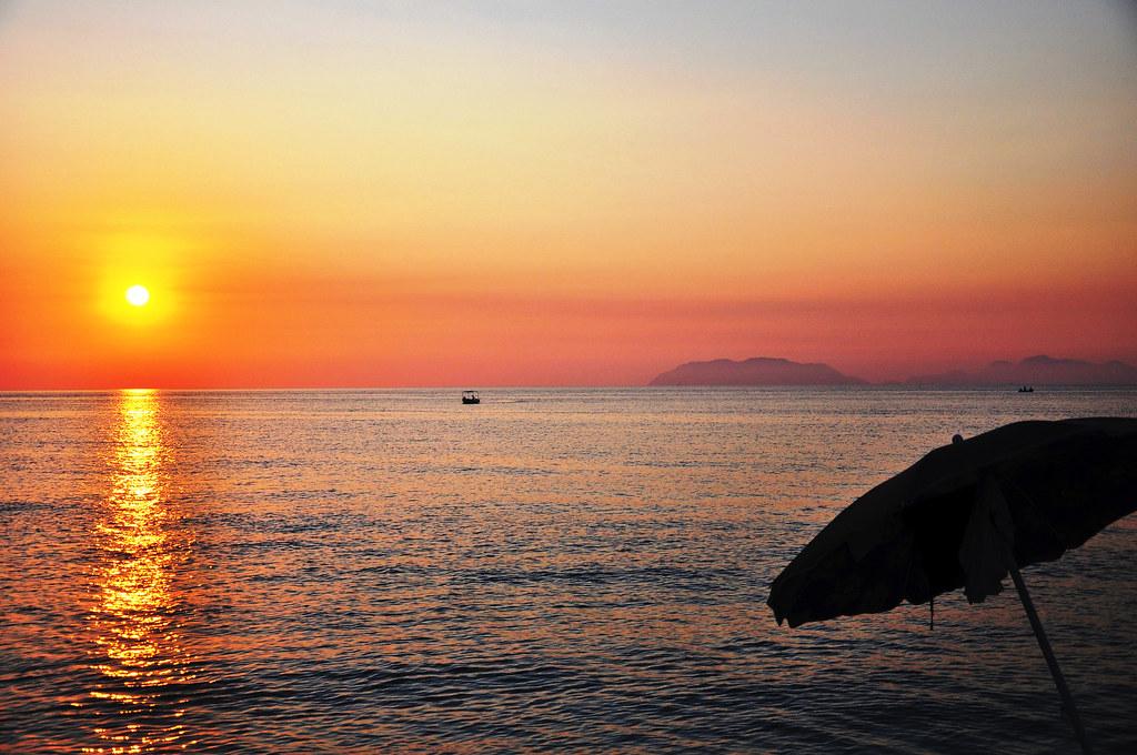 Isole Eolie dalla Siciila