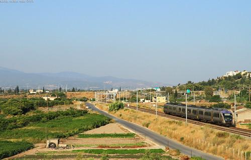 siemens corinto 460 ose korinth desiro hellenicrailways ferroviegreche ose460