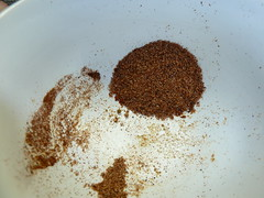 coconut(0.0), produce(0.0), crop(0.0), powder(1.0), spice mix(1.0), food(1.0),