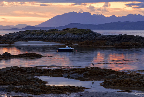 The Cullins, Skye, Scotland    explored by Richard W Gray