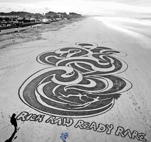 The Sand Artist