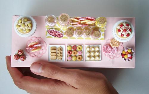 Miniature Candy Dessert Table Poppytalk