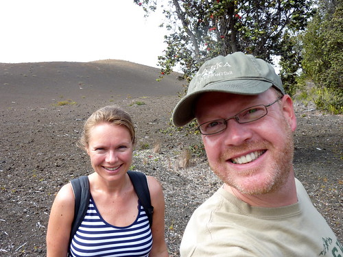 Hawaii Volcanoes NP - devastation trail