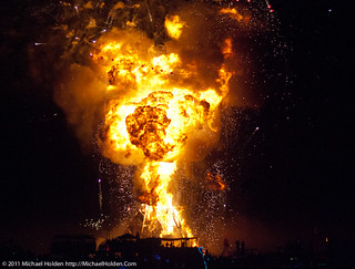 Burning Man 2011: KABOOM!