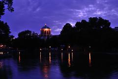 Beleuchtung am See