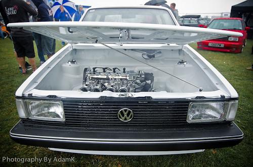 MK1 Jetta Engine Shot