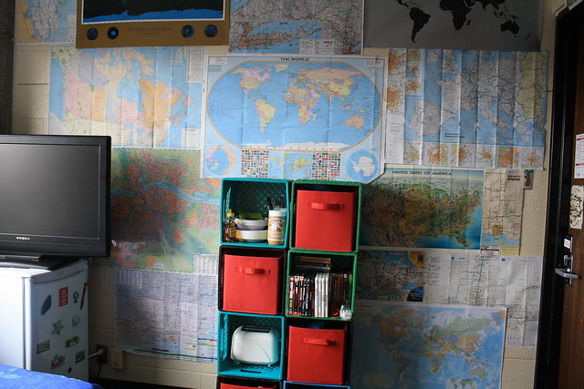 The Map wall <3