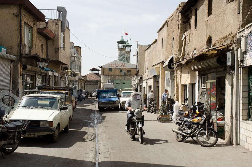 Main street in Hamoomchaal
