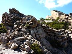 Castellu Muratu : les restes de l'enceinte Nord