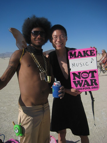 CODEPINK & Fresh Juice Party at Burning Man