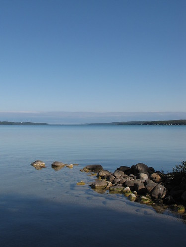 Torch Lake in the Morning