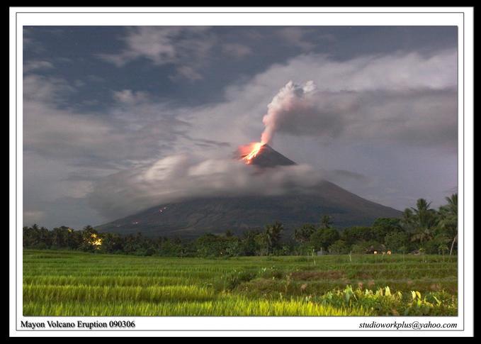Mayon Eruption, September 2006