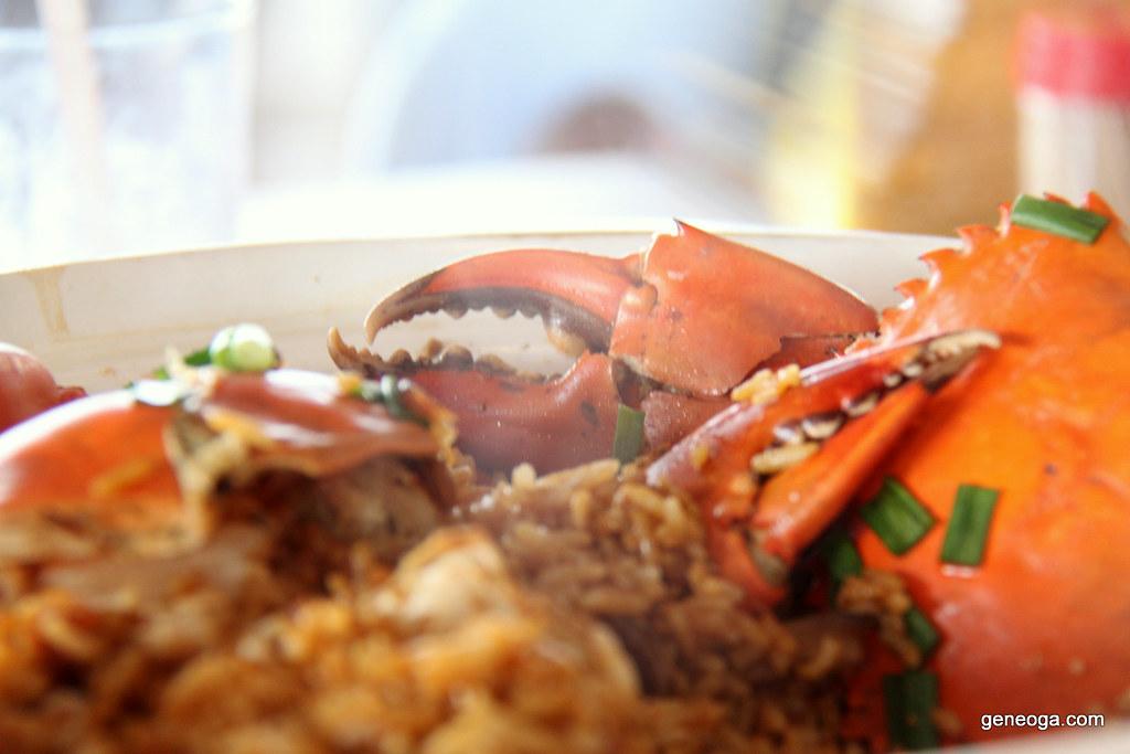 Claypot Crab Rice, Cia Xiang Seafood Restaurant