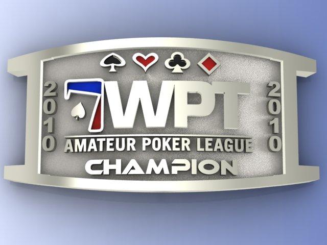 WPT Amateur Poker League bracelet | Final WPTAPL poker