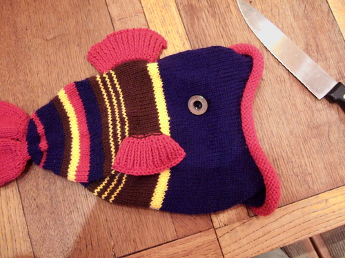 Sometimes I like knitting fish
