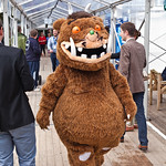 Gruffalo | The Gruffalo mingles with the crowds