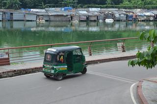 Dhaka motor rickshaw