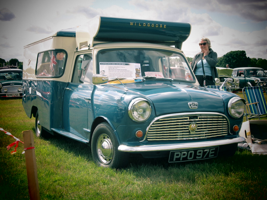 1967 Austin Mini Wildgoose Camper Rather Unusually These Flickr