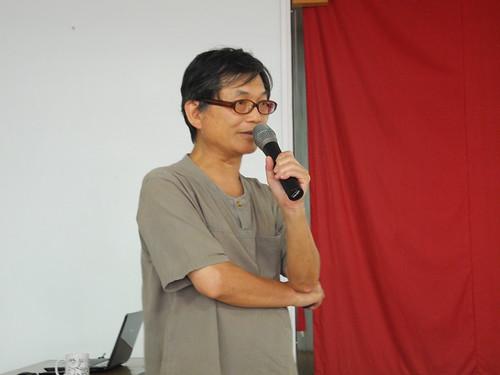 仰山有機農業促進條例草案召集人為台大農藝系教授郭華仁。