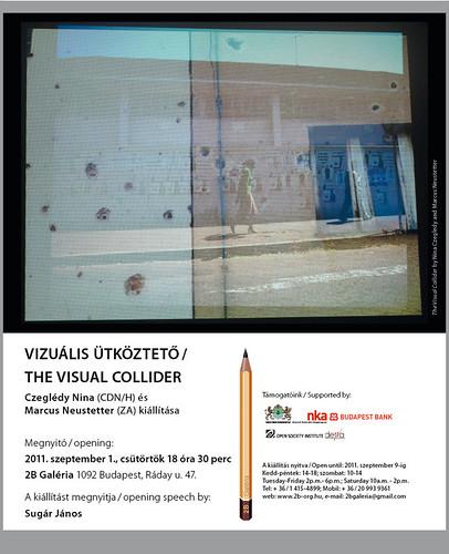 Czeglédy Nina & Marcus Neustetter: A vizuális ütköztető