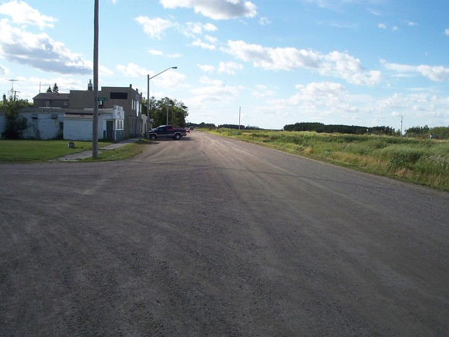 The main drag of Elfros, Saskatchewan
