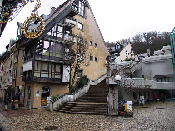 Konviktstrasse, Freiburg, photo by Robert Cutts, cc, via flickr