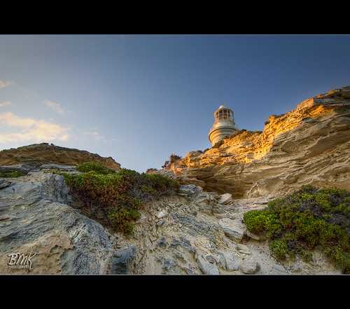 orange lighthouse sunrise rocks jagged westernaustralia rottnestisland hdr rotto bathurstlighthouse colorphotoaward magicunicornverybest outstandingromanianphotographers