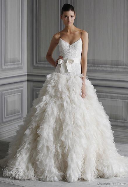 matthewsbridal Monique Lhuillier Wedding Dresses 2011 Fall Bridal Collection