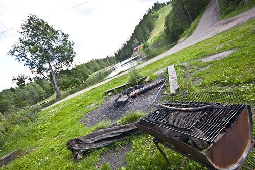 Grillplass ved Trollvann i Grefsenkollen