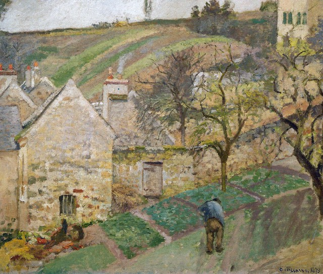 Camille Pissarro Hermitage Hill Pontoise At Mus E D 39 Ors